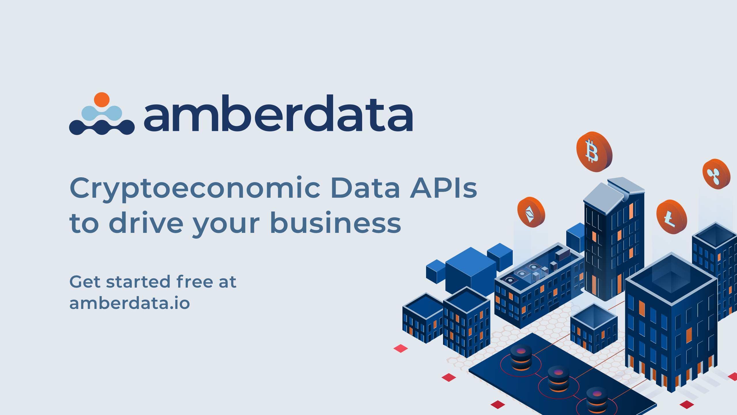 Amberdata - Cryptoeconomic Data to drive your business